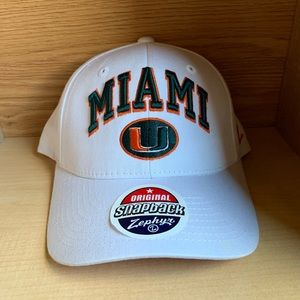 Miami Hurricanes Canes NCAA Football Snapback Hat